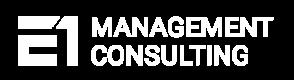 E1 Management Consulting Logo